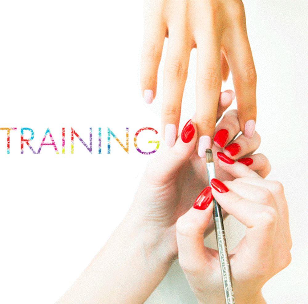 Professional nail technician training at Bio Sculpture Centurion.